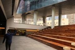 Auditorium open to the sky