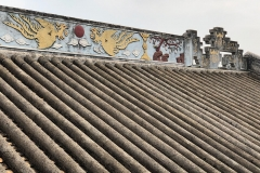 Zhou family temple roof