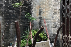 Outside courtyard