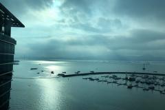 View across Shenzhen Bay toward Hong Kong