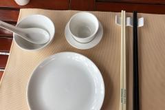 Serving chopsticks and personal chopsticks