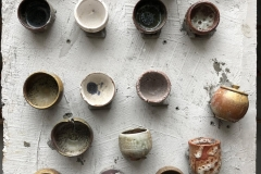 A potter's discarded pieces