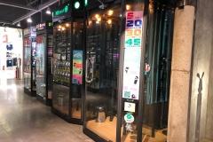 Karaoke booths at a shopping centre