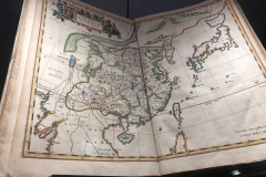 Map of China from 1654
