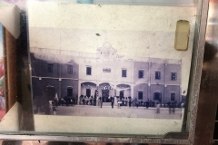 A historic photo of the school