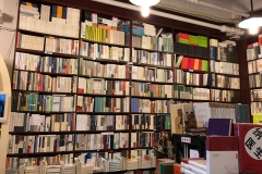 Inside the bookshop