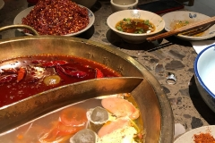 Sichuan hot pot not hot enough, so add chili beef